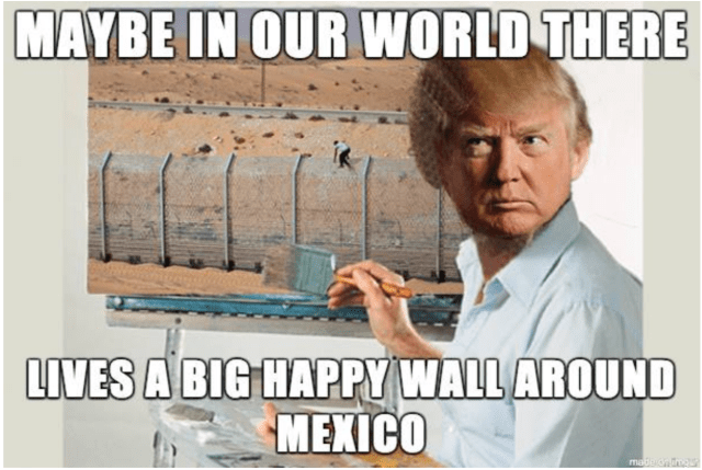 Happy Little Walls
