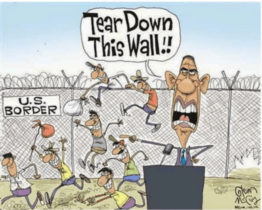 Obama Tear Down This Wall