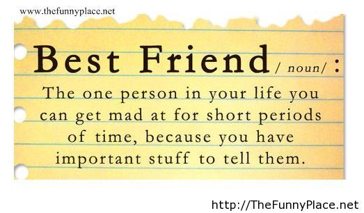 best friend sayings thefunnyplace