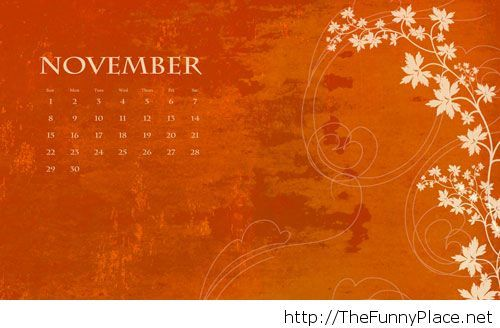 Weekend Wallpapers With Quotes Hello November Wallpapers With Calendar Thefunnyplace