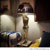 Star Wars lamp  TheFunnyPlace
