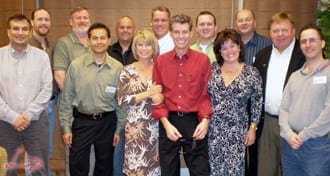 Wedding Entertainment Director® Elisabeth Scott Daley attending the MarBecca Method Wedding MC Workshop in Las Vegas in 2007.
