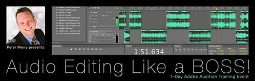 Audio Editing Like a BOSS! | Half-Day Adobe Audition Training Event