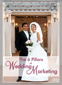 Peter Merry's DVD, The 6 Pillars of Wedding Marketing