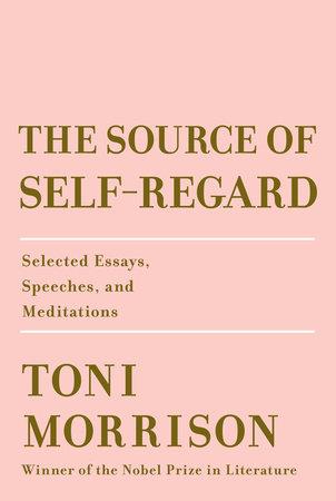 source of self regard toni morrison