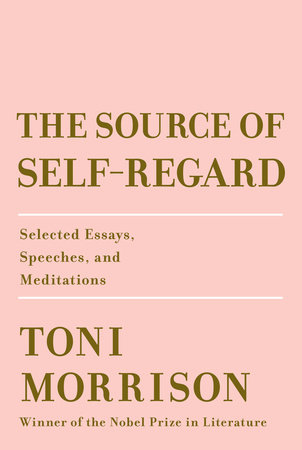 source of self regard toni morrison