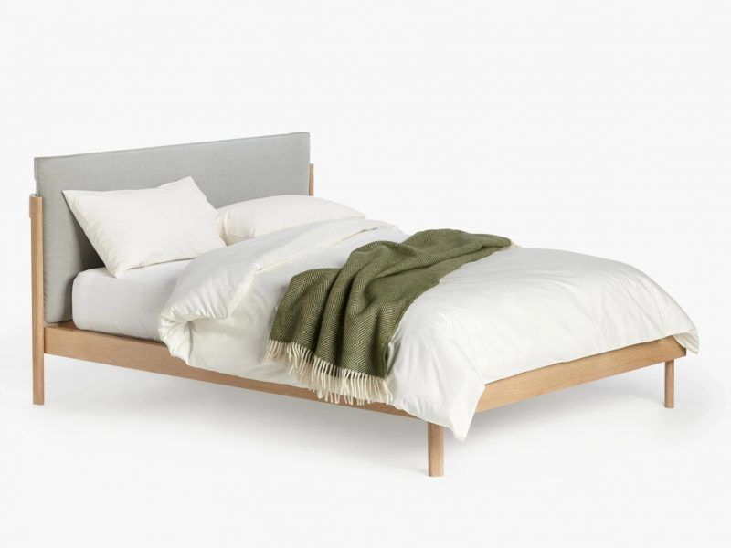 pillow bed frame double king size