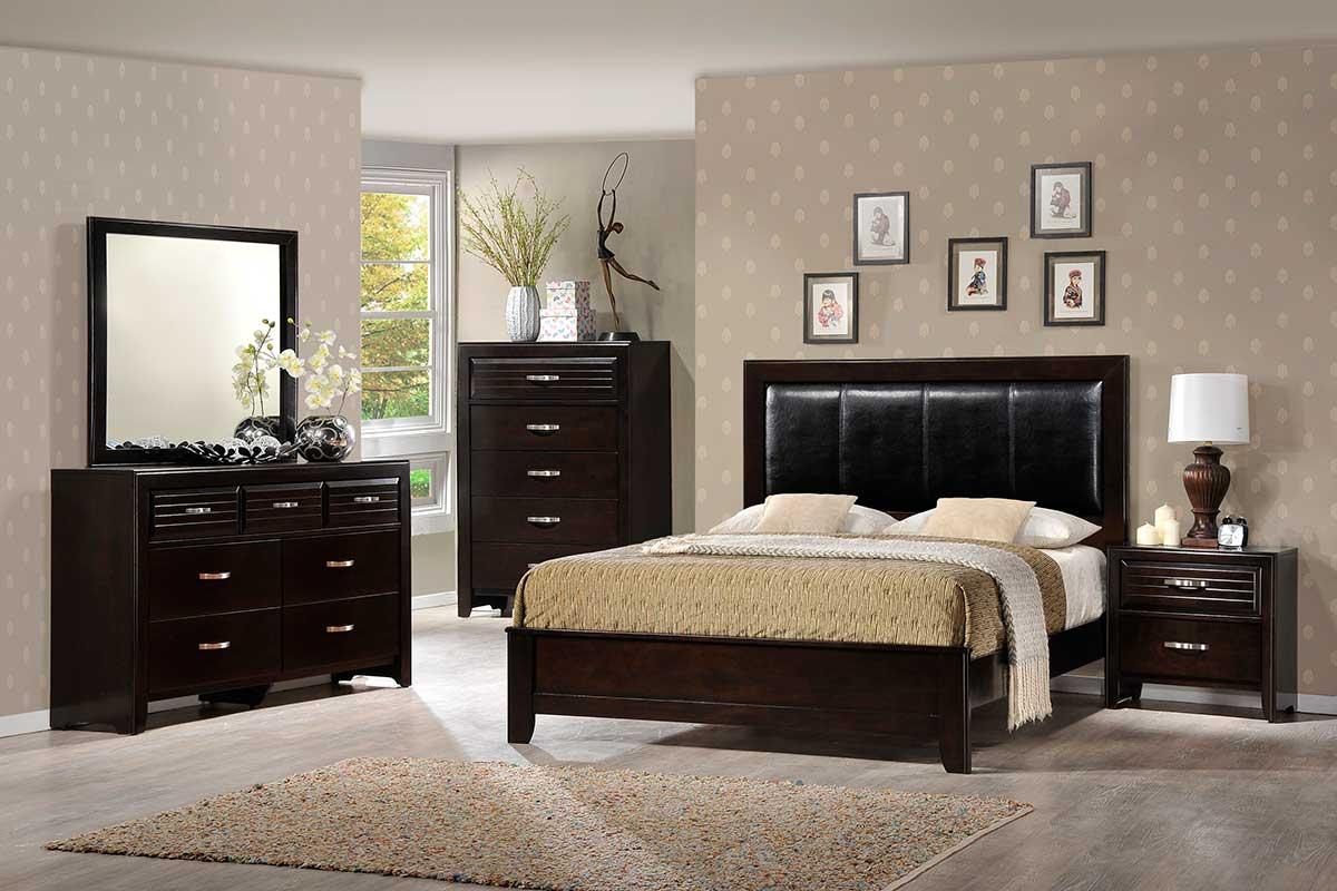 Jocelyn Bedroom Set  The Furniture Shack  Discount