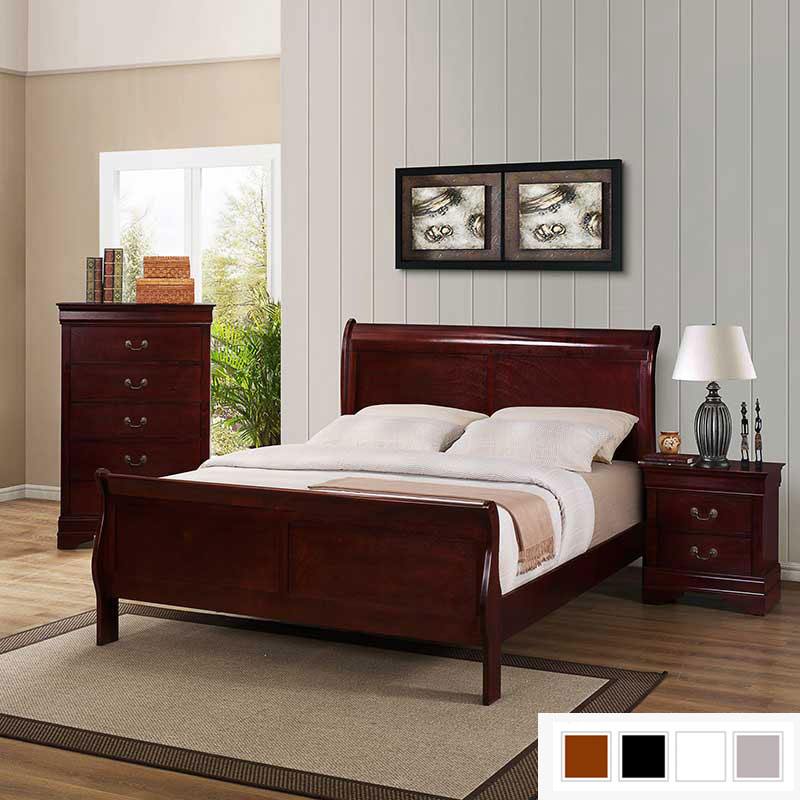 Sleigh Bed Collection  Discount Furniture  Portland OR