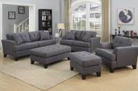 Norwich Gray Sofa Set - The Furniture Shack | Discount ...