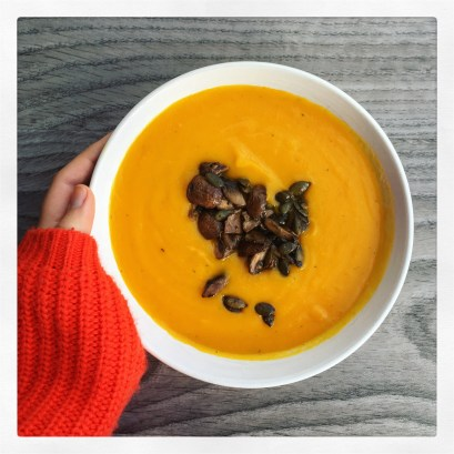 Curried Carrot Parsnip Soup