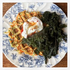 Carrot and Courgette Waffles