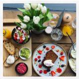 Breakfast Board and Banana Bread