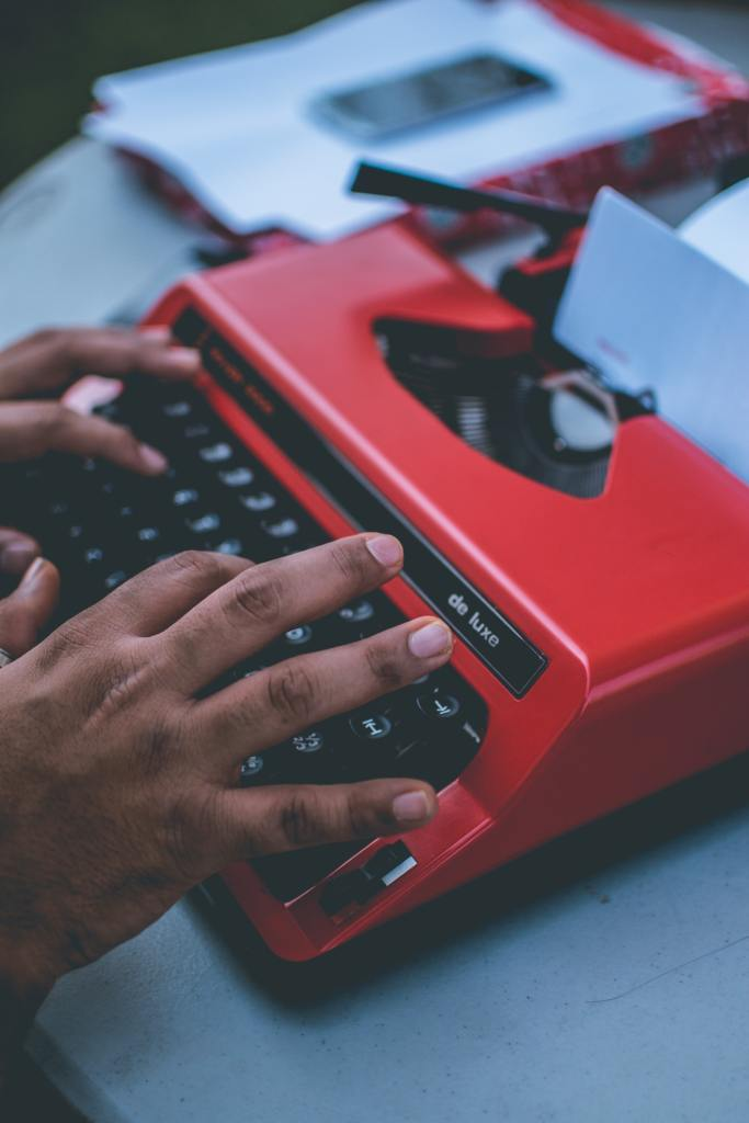 12 Ways To Improve Your Self-Worth Today with A typewriter