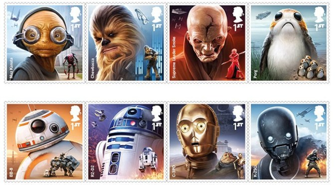 Star Wars: The Stamp Collection Strikes Back