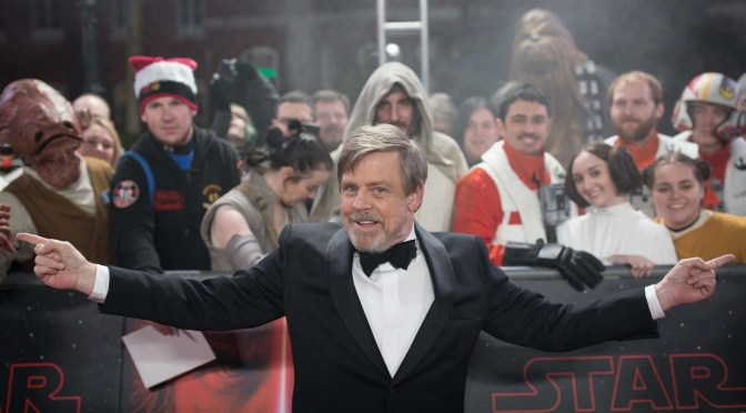 From the Red Carpet – Star Wars: The Last Jedi European Premiere