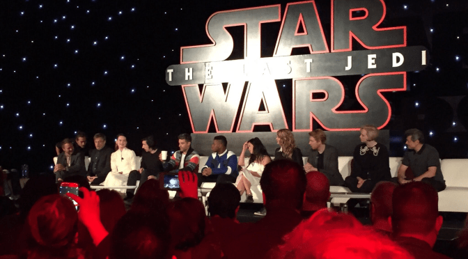 Star Wars: The Last Jedi Los Angeles Press Event