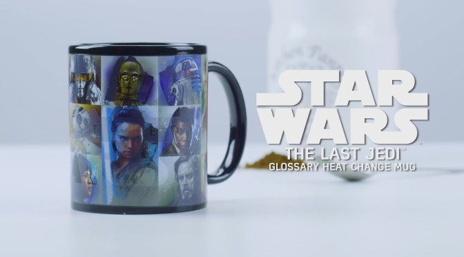 Star Wars: The Last Jedi Paladone Merchandise Strikes Back