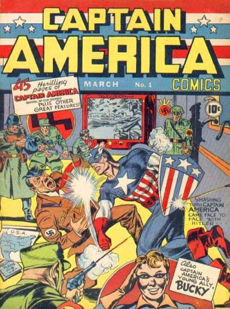 Comic Books & WWII - Captain America Comics - FOTF