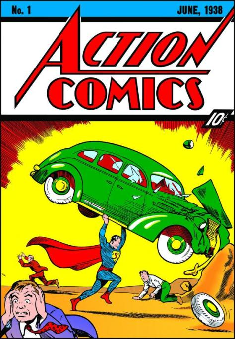 Comic Books & WWII - Superman Comics - FOTF