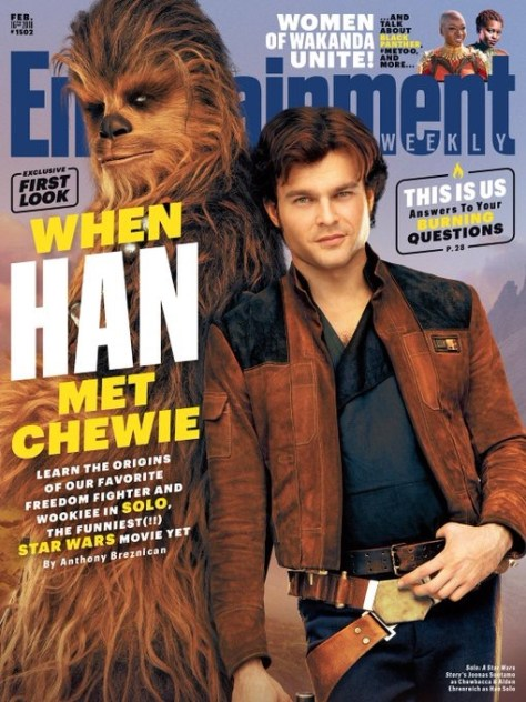 Entertainment Weekly Solo A Star Wars Story