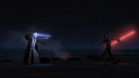 The Best Moments of Star Wars Rebels - Maul v Obi-Wan