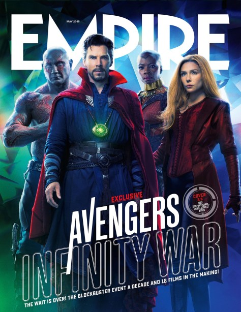 Avengers Infinity War Empire Cover