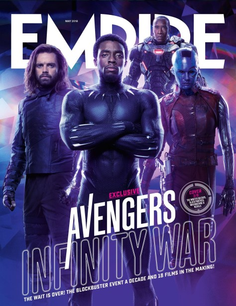 Avengers Infinity War Empire Cover 3