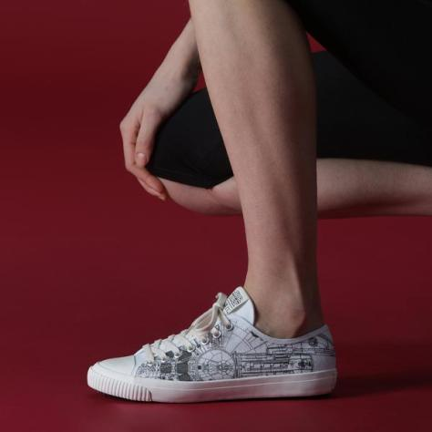 Po-Zu Unveils Incredible New Millennium Falcon Sneakers!
