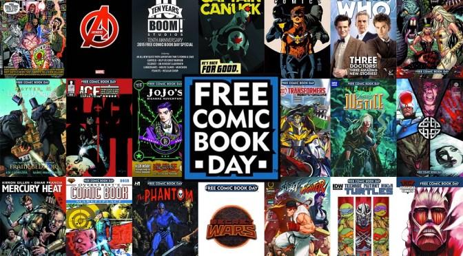 Free Comic Book Day 2018