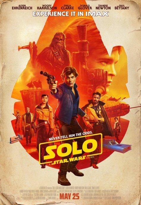 Solo IMAX Poster
