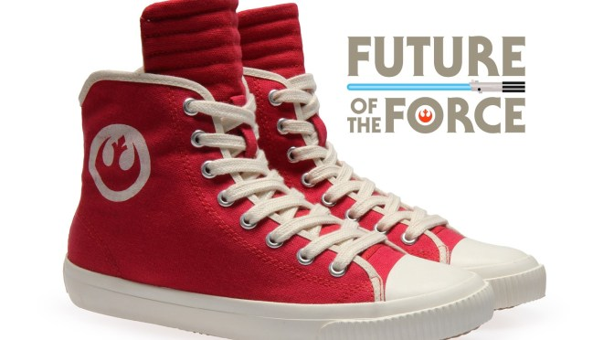 Bring Peace to the Galaxy with the New Rebellion Sneakers from Po-Zu