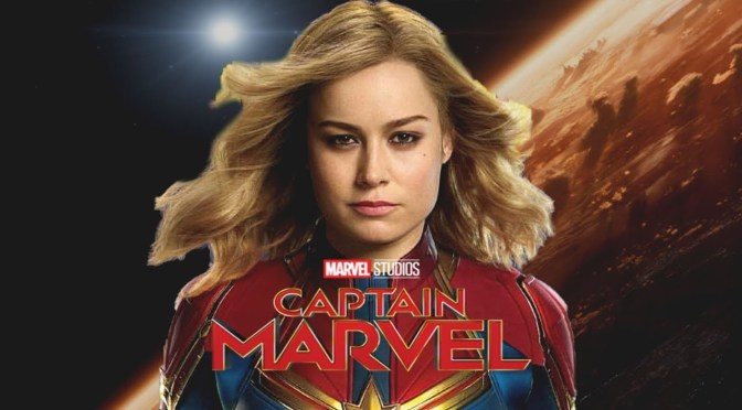 Captain Marvel | First Look at Marvel's Newest Superhero
