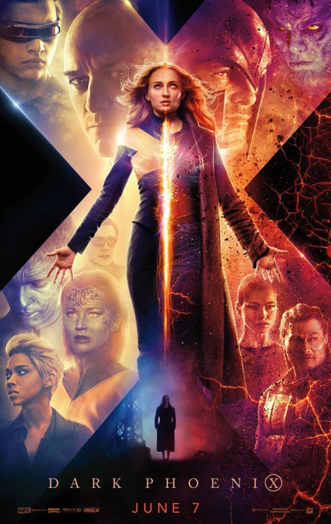 X-Men | New Dark Phoenix Poster Unveiled