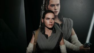 Star Wars Hot Toys Rey (Jedi Training) Review 6