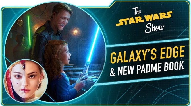 The Star Wars Show | Queen's Shadow Author E.K. Johnston and Galaxy's Edge News