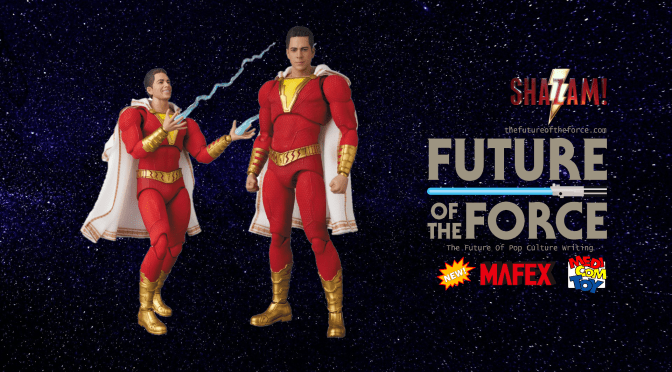 First Look | Medicom Toys Mafex Shazam Unveiled (Updated)