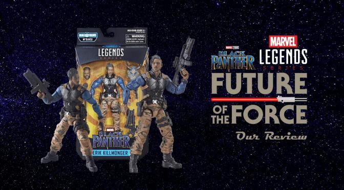 Marvel Legends Review | Erik Killmonger (Black Panther)