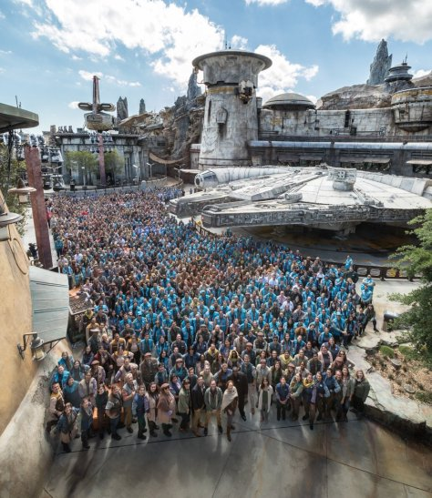 Star Wars: Galaxy's Edge   Dedication Ceremony