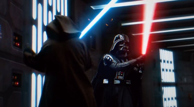 Star Wars | This Reimagined Lightsaber Duel from A New Hope Is INCREDIBLE