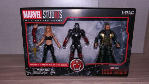 FOTF Review - Marvel Legends Iron Man Mark XXII, Pepper Potts & The Mandarin (Iron Man 3) 2