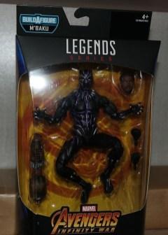 Marvel Legends Review T'Challa Vibranium Suit (Black Panther) 1