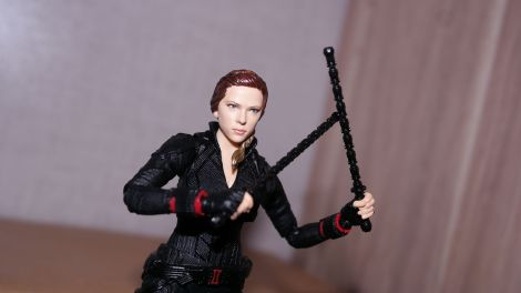 S.H Figuarts Review Black Widow (Avengers Endgame) 13