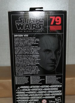 Black Series Review | Dryden Vos (Solo: A Star Wars Story)