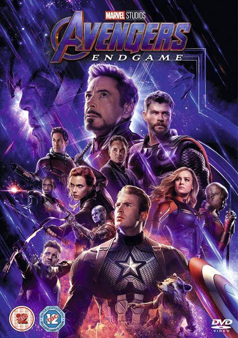 Avengers Endgame DVD Cover