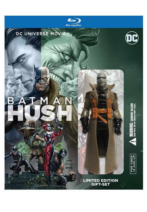Batman Hush Blu-Ray MiniFig
