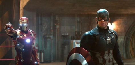 Catptain America Civil War (Steve Rogers and Iron Man)
