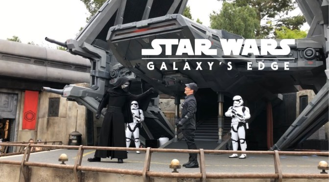 Colin Trevorrow's Tie Echelon Showcased at Galaxy's Edge