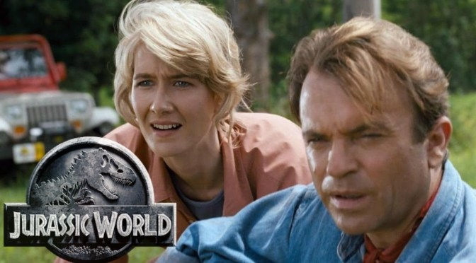 "Jurassic World | Neill, Dern and Goldblum Return for ""Jurassic World 3"""