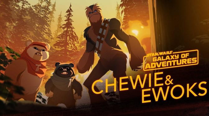 Star Wars: Galaxy of Adventures | Chewie and Ewoks – Hijacking a Walker